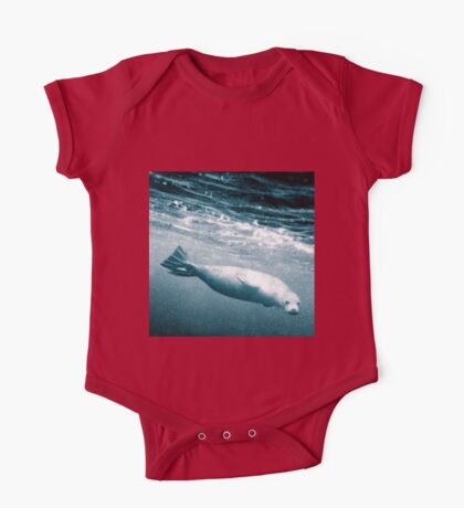 Seal Below the Surf One Piece - Short Sleeve