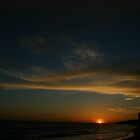 Wispy Cloud sunset over Rota by fototaker