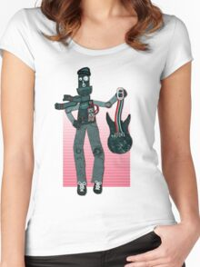 Unplugged ...  by Perrin Women's Fitted Scoop T-Shirt