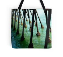 Marching Off To Sea Tote Bag