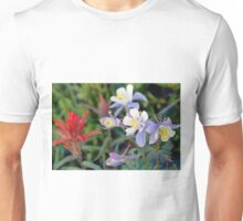Colorado Blue Columbine Unisex T-Shirt