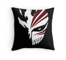 Broken Mask Bleach Throw Pillow