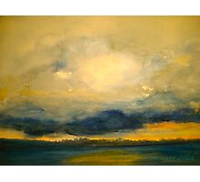 The Lowering Sky.. Photographic Print