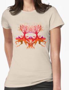 Summer Rabbit  Womens Fitted T-Shirt