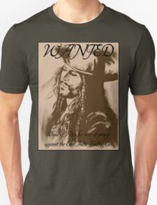 Jack Sparrow: Wanted T-Shirt