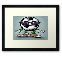 Soccer Cool Framed Print