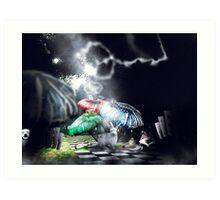 Wonderland Experience Art Print