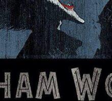 Arkham World Sticker