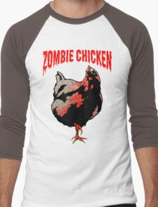 ZOMBIE CHICKEN Men's Baseball ¾ T-Shirt
