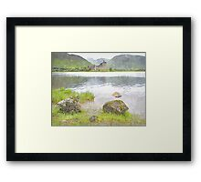 kilchurn castle - scotland Framed Print