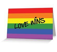 Love Wins! Greeting Card