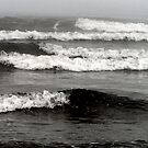 The waves shows the mood of the sea by patjila