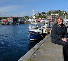 Oban Harbour, Scotland by rodsfotos