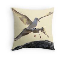 Perfection In Flight Throw Pillow