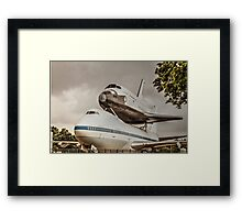The shuttle Framed Print