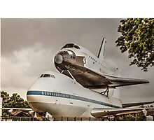 The shuttle Photographic Print