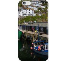 Harbour Wall, Polperro, Cornwall iPhone Case/Skin