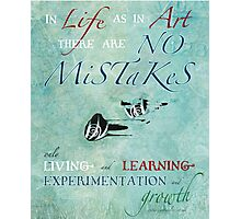 No Mistakes Photographic Print