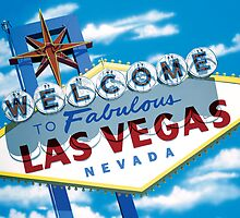 Fabulous Las Vegas Sign by Anthony Ross