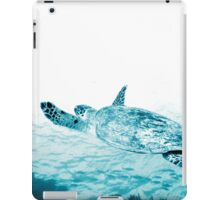 Turtle Gliding iPad Case/Skin