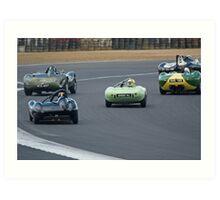 Fifties Sports Racers Art Print