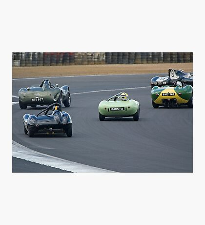 Fifties Sports Racers Photographic Print