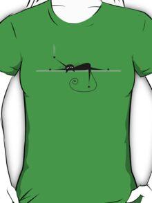Relax. Black cat silhouette T-Shirt