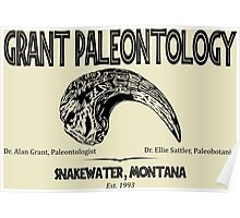 Grant Paleontology Poster