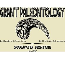 Grant Paleontology Photographic Print