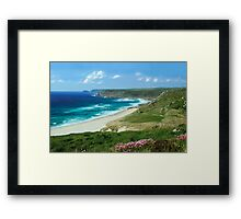 Whitesand Bay, Cornwall Framed Print