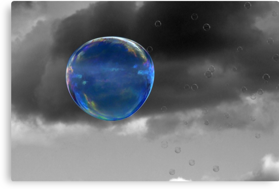 Blue Bubble by Samantha Higgs
