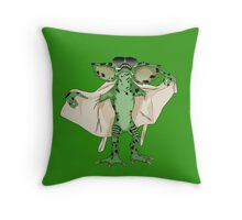 Gremlin Flasher Throw Pillow