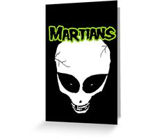 Misfits (Martians) Greeting Card