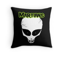 Misfits (Martians) Throw Pillow