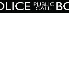Police Public Call Box Tardis by VASSdesign