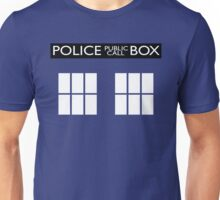 Police Public Call Box Tardis Unisex T-Shirt