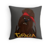 Tupacca Throw Pillow