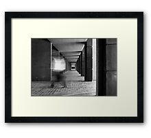 A VAGUE RECOLLECTION Framed Print