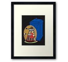 Daleks in Disguise - Fourth Doctor Framed Print