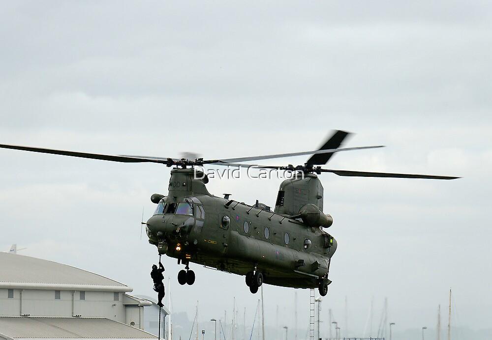 RAF Rescue team in action by David Carton
