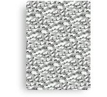Monolith Urban Camouflage Canvas Print