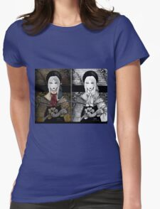 Dolly doll doll Womens Fitted T-Shirt