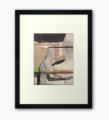 falling up Framed Print
