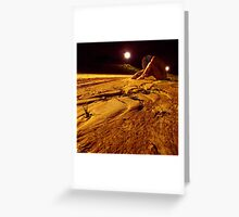 Oxygen Low Greeting Card