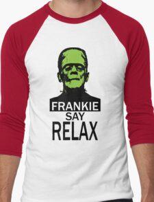 Frankie say RELAX Men's Baseball ¾ T-Shirt