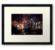Tampa Skyline Framed Print