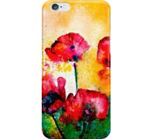 The Rhythm Of Life...Poppies iPhone Case/Skin
