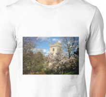 The Ancient Churchyard in Spring Unisex T-Shirt