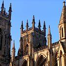 York's Minster detail  by patjila
