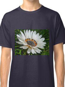 Beautiful White Gazania Flower Classic T-Shirt